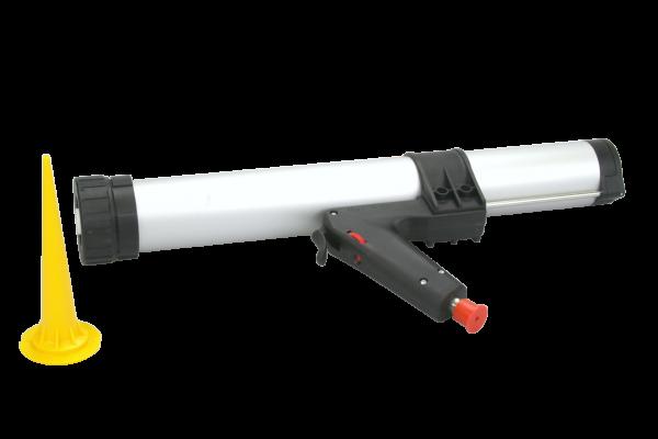 Kröger 1-K Kartuschenpistole T22XP, pneumatisch, 600 ml